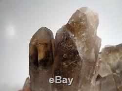 5 lb. 100%Natural SMOKY CITRINE QUARTZ Crystal Cluster mineral Specimen Healing