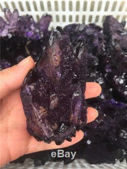 5000g Wholesale RARE! New Find Amethyst Quartz Crystal Cluster Specimen 11lb