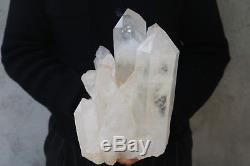 5040g(11.1lb) Natural Beautiful Clear Quartz Crystal Cluster Tibetan Specimen