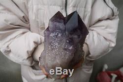 5300g Beautiful NATURAL Skeletal AMETHYST QUARTZ Crystal Cluster Specimen