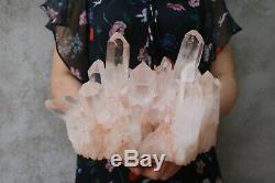 5380g(11.8lb) Natural Beautiful Clear Quartz Crystal Cluster Tibetan Specimen
