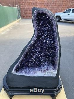 58 858 LBS Qual AAA AMETHYST Geode Quartz Crystal Cluster Cathedral Specimen