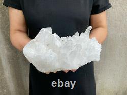 6.5LBS Natural Clear Quartz Cluster Mineral Crystal Specimen Healing TQS19