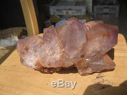 6050g(13.35LB) Natural Amethyst Quartz Crystal Cluster Original Mineral Specimen