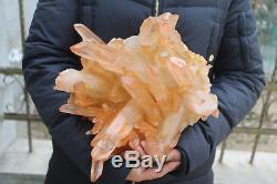 6050g(13.3lb) Natural Beautiful Clear Quartz Crystal Cluster Tibetan Specimen