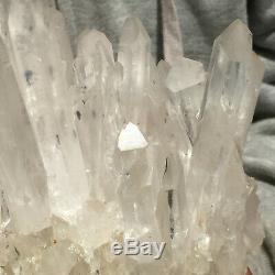 6250g Large Natural White Quartz Crystal Cluster Point Healing Mineral Specimen