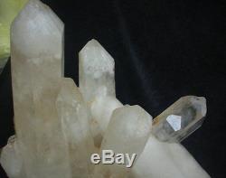 67.7lb Large Natural Clear Quartz Crystal Cluster Points