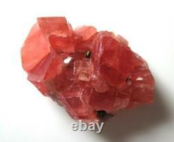 67 ct Sweet Home Rhodochrosite crystal cluster Millennium Pocket Colorado