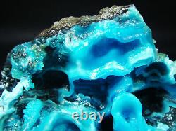68g Museum Quality Sea Blue Gibbsite Crystal Cluster Mineral Specimen
