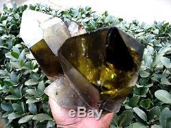 7.48lb Rainbow NATURAL Citrine Smokey quartz crystal cluster point Specimens