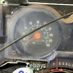 73-80 Chevy GMC Truck GAUGE Cluster C10 K5 K10 Blazer Suburban Clock Squarebody