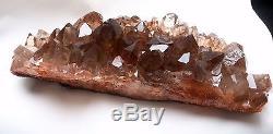 8.5lb New Find NATURAL Clear Golden RUTILATED QUARTZ Crystal Cluster Specenim