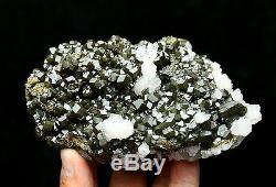 836g Natural Andradite Garnet Crystal Cluster Quartz Inner Mongolia /China