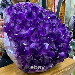 99.22LB Natural Amethyst geode quartz cluster crystal specimen Healing