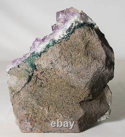 9Lbs Amethyst Crystal Geode Cluster Quartz Specimen Brazil