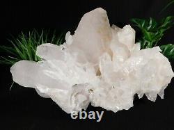 A GIANT 100% Natural Quartz Crystal Cluster From Arkansas 8131gr