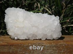 A Grade Natural Clear Quartz Crystal Cluster 384g Raw & Rough