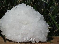 A Grade Natural Clear Quartz Crystal Cluster 558g Raw & Rough