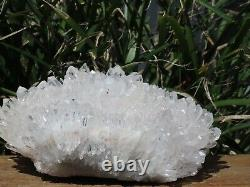 A Grade Natural Clear Quartz Crystal Cluster 690g Raw & Rough
