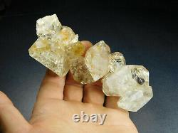 A+ Herkimer Diamond Water Clear Quartz Crystal Cluster New York Sweet Chain