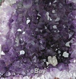 AAA+ HIGH QUALITY PURPLE AMETHYST CRYSTAL QUARTZ CLUSTER GEODE CATHEDRAL 16.5 lb