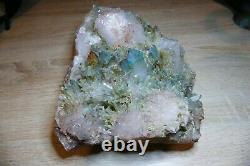Ajoite Quartz crystal cluster South Africa Rare MUSEUM QUALITY