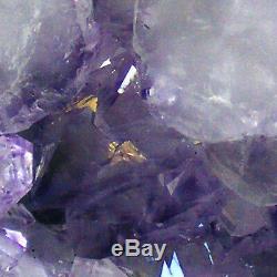 Amethyst Cathedral Geode Cave Natural Quartz Crystal Cluster 3.75kg 22cm