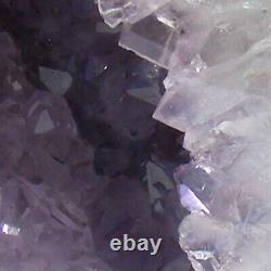 Amethyst Cathedral Geode Cave Natural Quartz Crystal Tall Cluster 11kg 32cm high