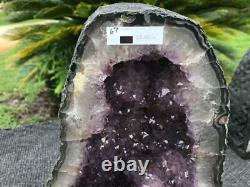 Amethyst Cathedral Geode Crystal High Quality Beautiful Clusters / Free Shipping