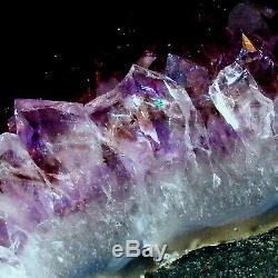 Amethyst Cathedral Large Geode Cave Natural Quartz Crystal Cluster 4.95kg 24cm