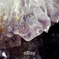 Amethyst Cathedral Quartz Crystal Cluster Natural Geode Cave 3.3kg 19cm