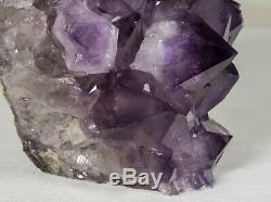 Amethyst Crystal Geode Cluster Quartz Specimen Brazil