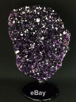 Amethyst Geode Cathedral 22 lb Crystal Quartz Cluster Natural Specimen Stone