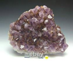 Amethyst Quartz Crystal Cluster Geode Large Natural Raw Mineral Healing 4.93kg