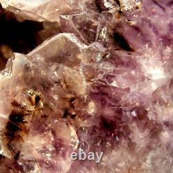 Amethyst Quartz Geode Cave Cathedral Natural Crystal Large Cluster 2.9kg 19cm