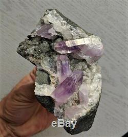 Amethyst cluster Brandberg Namibia 140x80mm Natural Crystal Rare
