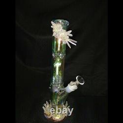 Angel Quartz cluster bling vase