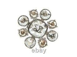 Authentic Chanel Crystal Gripoix Ring