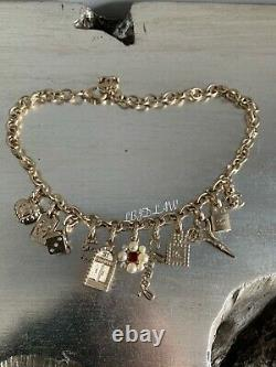 CHANEL 21P Carnival Clustered Charm Story Necklace Pearl CC Gold Choker 18 2021
