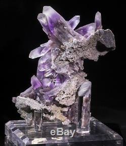 El Rey Epic Guerrero Amethyst Cluster from Guerrero, Mexico