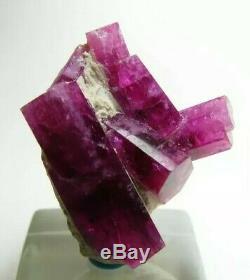 Extraordinary Exquisite Glassy Gem Red Beryl Bixbite Crystal Cluster! Utah