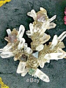 Find Fluorite Pyrite Specimen Cluster Mineral Specimen Quartz Crystal Healing
