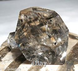 GORGEOUS VERY FINE CLEAR NEW YORK HERKIMER QUARTZ CRYSTAL CLUSTER 196.5cts