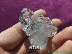HIGH QUALITY LARGE WATER CLEAR Herkimer Diamond Quartz Crystal Cluster