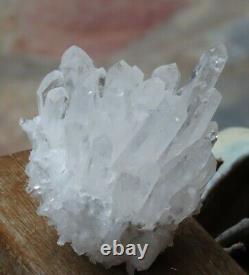 High Quality Natural Clear Quartz Crystal Cluster 573g Raw & Rough