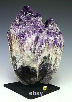 Huge Amethyst Celestial Candle Crystal Cluster Natural Healing Mineral 5.6kg