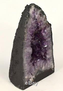 Large 17.8 LB 11.1 Cathedral Amethyst Geode Extra Quality Quartz Cluster Brazil