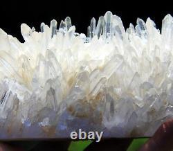 Large 7.5 Water Clear Quartz Cluster, Sichuan, China! Q101
