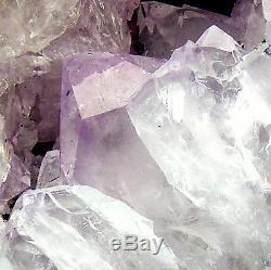 Large Amethyst Cathedral Quartz Crystal Cluster Natural Geode Cave 6.35kg 27cm