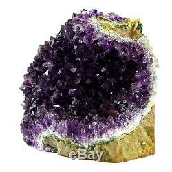 Large Amethyst Cluster Geode Crystal Quartz Cut Base Amethyst Specimen Uruguay